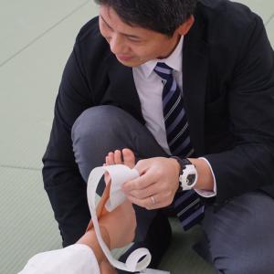 「みんなで柔道 2018静岡東部大会」救護活動