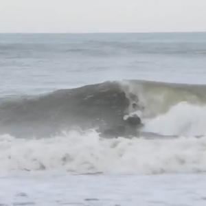 夕方の波 また良い波でしたが・・・