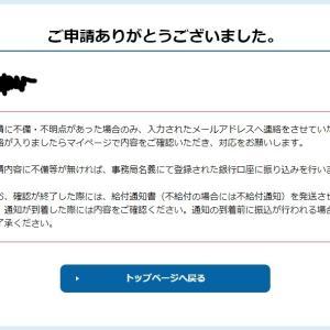 4度目の申請!不安ありですが!