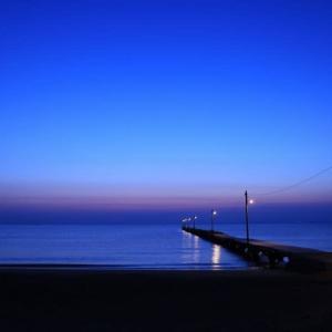 原岡桟橋・・・夜