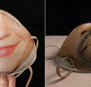 マスクをしたまま顔認証できる。ユーザーの顔をカスタム印刷したマスクが開発中(アメリカ)