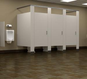 所変わればトイレも変わる。アメリカの公衆トイレの個室が開放感に溢れている理由
