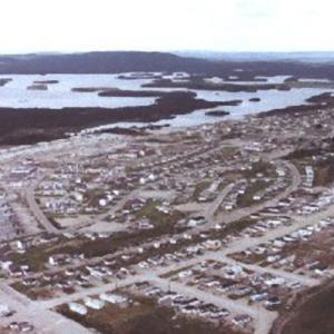カナダ、ケベック州のゴーストタウン、元鉱山の町ガニョン