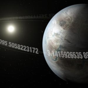 円周率かな?恒星を約3.14日周期で公転する地球サイズの惑星が発見される