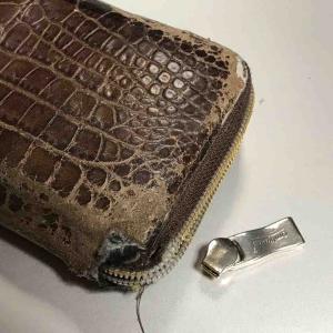 経年劣化~長財布が欲しい…