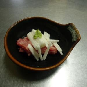 マグロと長芋