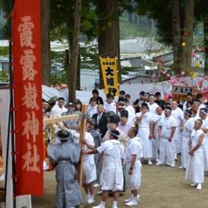 霞露嶽神社例大祭2019
