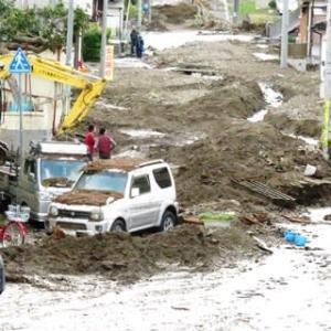 19号台風被害状況 山田町