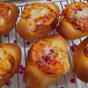 今朝の手作りパン