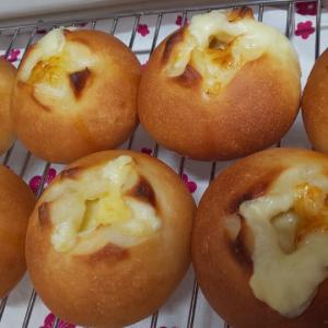 チーズマヨパン&ウインナーパン