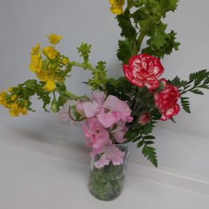 高校生の生け花