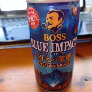 BOSS BLUE IMPACT 冴えの微糖