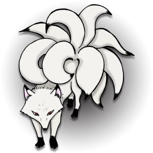 【待画】【プロフ画】九尾狐