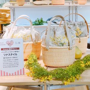 ナンタケットバスケット 神戸阪急 明日から展示販売