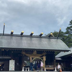 北海道神宮へ御詣り