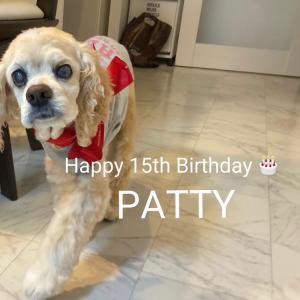 パティの15歳の誕生日♪♪♪