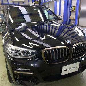 BMW X3 コーティングメンテ
