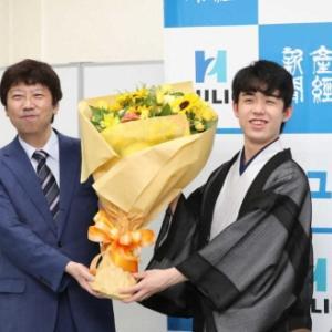 地元愛知の誇り。瀬戸市の宝たる高校生棋士、藤井聡太七段がやってくれました。