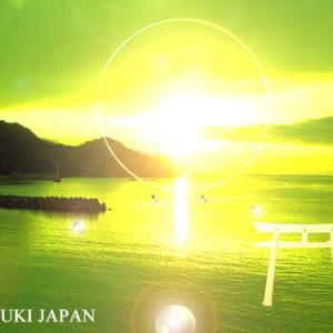 スピリチュアルアート絵画 大嘗祭 安寧の祈り 令和元年11月14日 岡田和樹