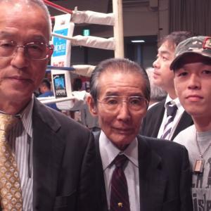 藤本会長との写真