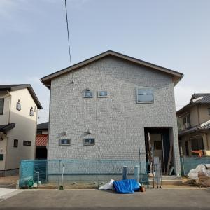 4月20日完成予定のお家。