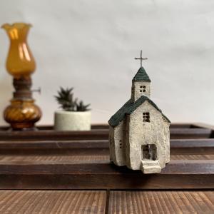 陶土のおうち ちびはうす *カフェ*風車*教会*アパート*etc...