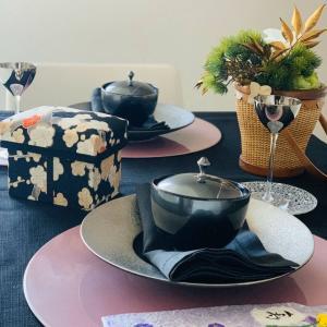 祝い箸 お正月テーブルコーディネート
