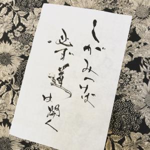 朝ドラ エールより 藤堂先生のことば