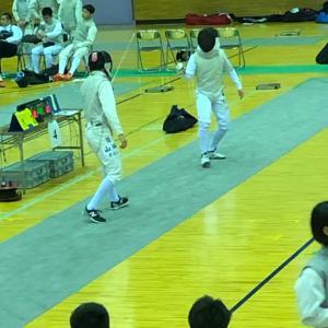 ゴールデンウィーク フェンシングの試合 GTEC