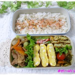 ☆肉野菜炒めのお弁当☆