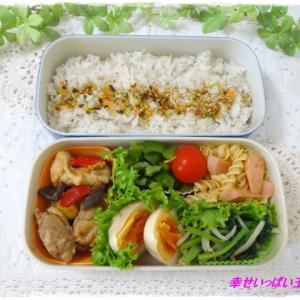 ☆チキンと野菜のトマト煮込みのお弁当☆