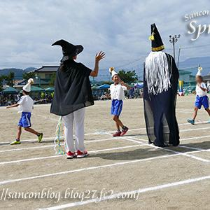 2回目の小学校の運動会(8歳2ヶ月9日)