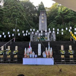 鯖江市戦没者追悼式、鯖江市戦没者慰霊法要「みたま祭」