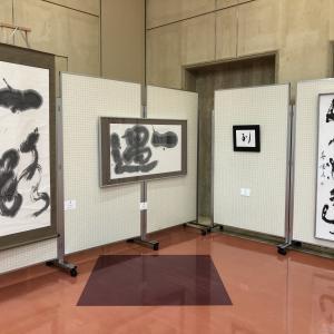 第60回鯖江市文教総合展・合同茶会が開催中