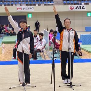 2020全日本高等学校体操競技選抜鯖江大会が開催中です。