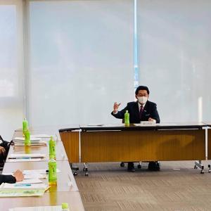 鯖江市区長会連合会会長会との語り合う会を開催しました。