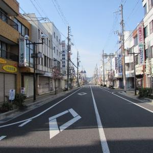 古過ぎず、新し過ぎない?美濃太田駅南口の街並み。 【2017年05月 岐阜県美濃加茂市】