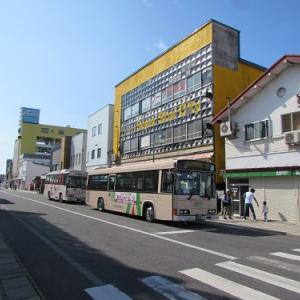 JR五所川原駅から続く、昭和遺産な?街並み。 【2019年07月 青森県五所川原市】