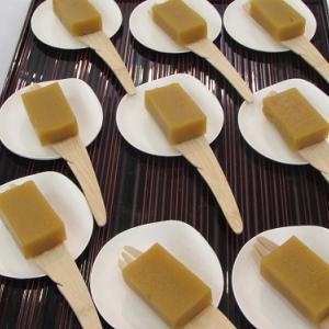 安寧芋のお菓子。あわら市富津地区では「糖蜜芋」。 【2018年03月 福井県あわら市】