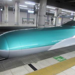 東北・北海道新幹線の、長〜い鼻。 【2020年02月 東京都台東区】