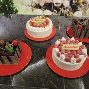 ホテル内展示スペースの、ケーキのディスプレイ。 【2020年10月 東京都千代田区】