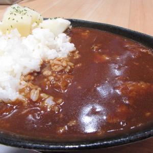 東京・有楽町の交通会館で、びえい豚カレーを食す。 【2021年01月 北海道美瑛町】
