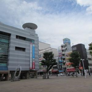 匿名の地方都市の駅前?のような景観の大和駅前。 【2020年09月 神奈川県大和市】