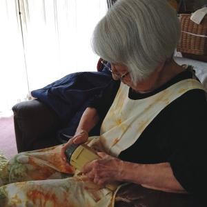 高齢者宅の防災用品