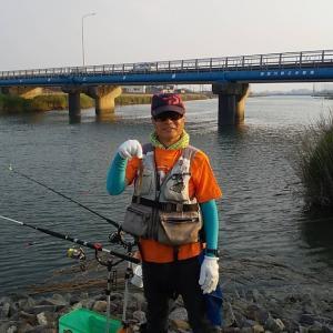 初のうなぎ釣り 20190620