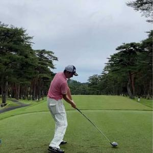 日本プロゴルフ選手権の日光カントリーへ