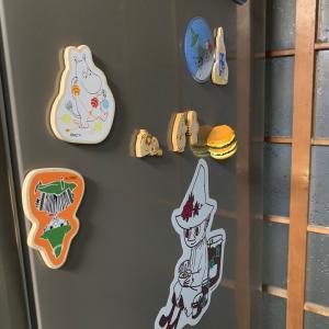 ミニマリストを目指して240◾️冷蔵庫横◾️