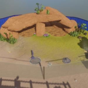 【Planet Zoo】メイプルリーフ野生動物公園、シルバー目標達成