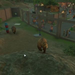 【Planet Zoo】残りの飼育エリア作成