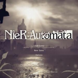 【NieR:Automata】ニーアオートマタ、プレイ開始